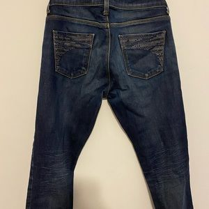 Zara Cropped Jeans